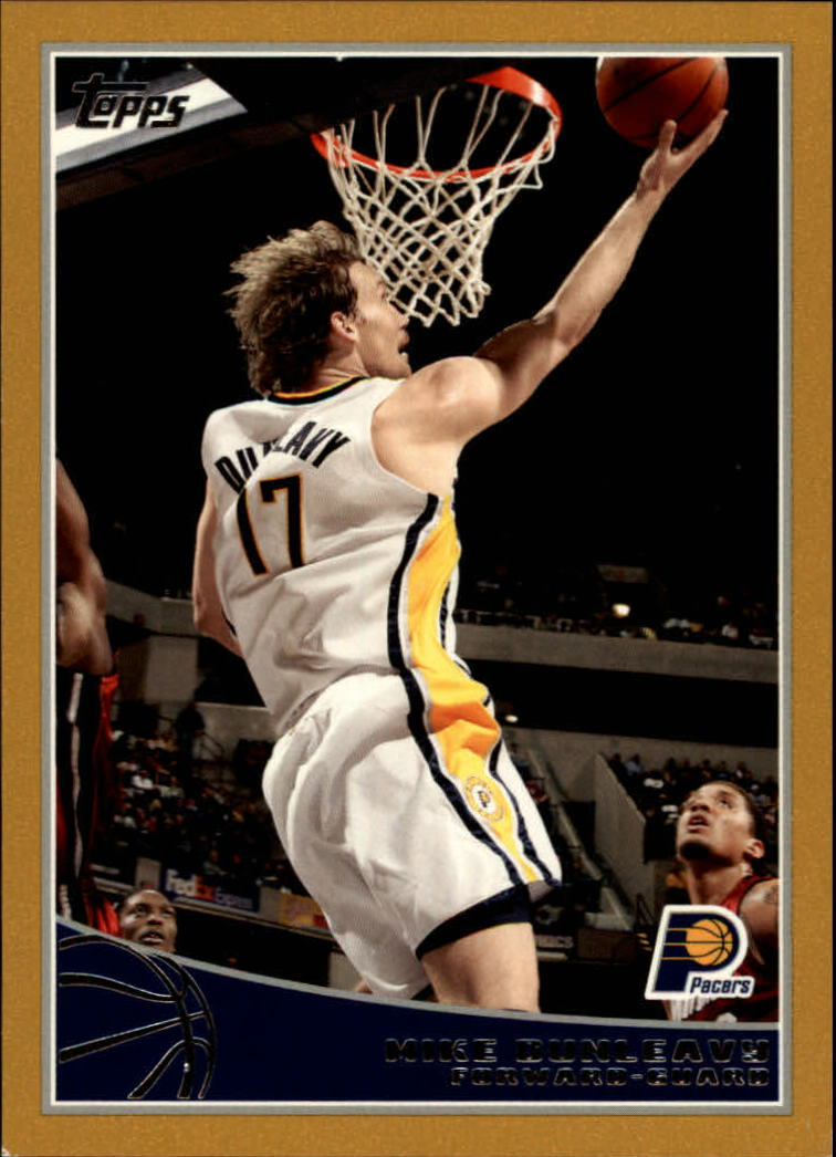 2009-10 Topps Gold #104 Mike Dunleavy