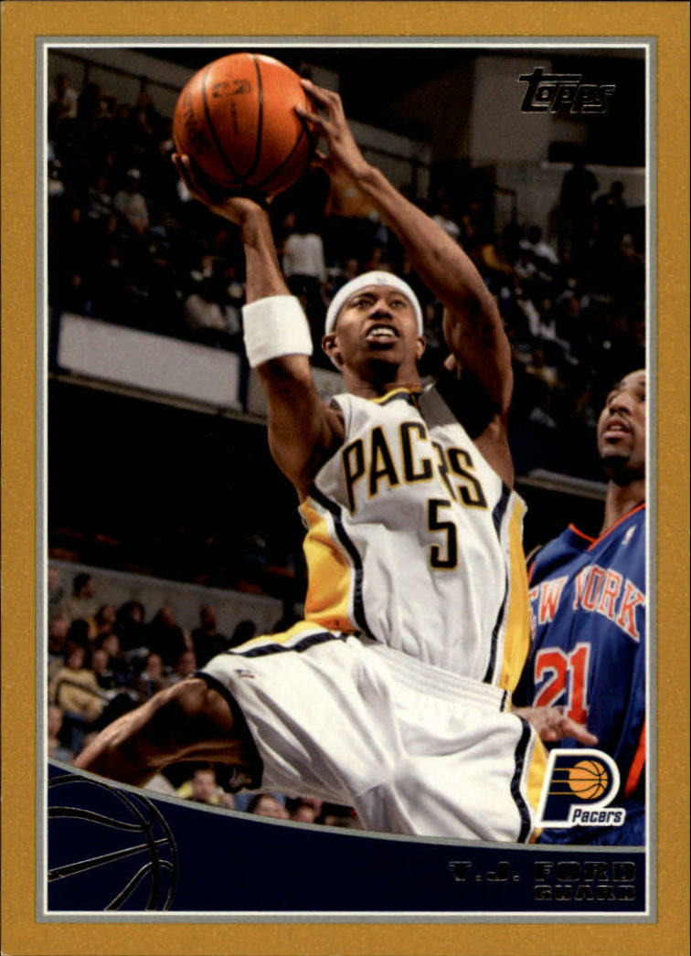 2009-10 Topps Gold #105 T.J. Ford