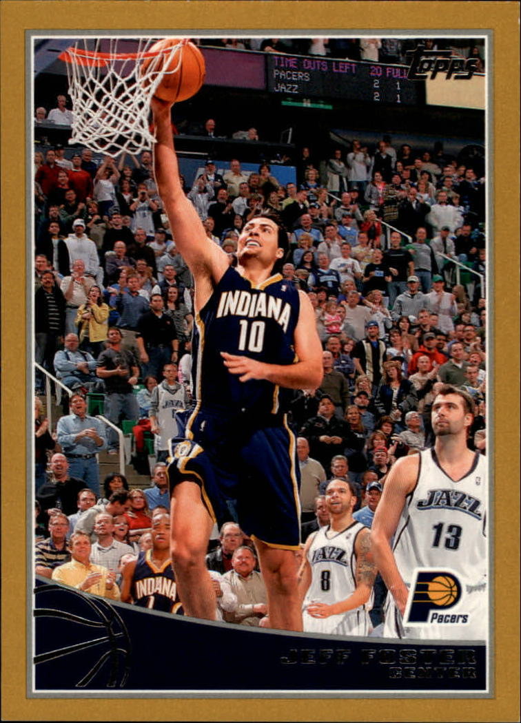 2009-10 Topps Gold #112 Jeff Foster