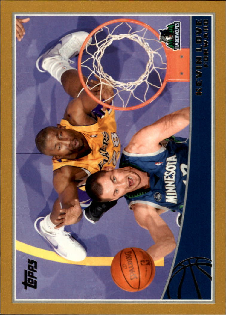 2009-10 Topps Gold #167 Kevin Love