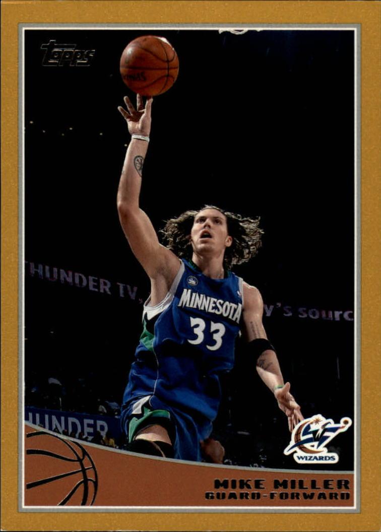 2009-10 Topps Gold #169 Mike Miller