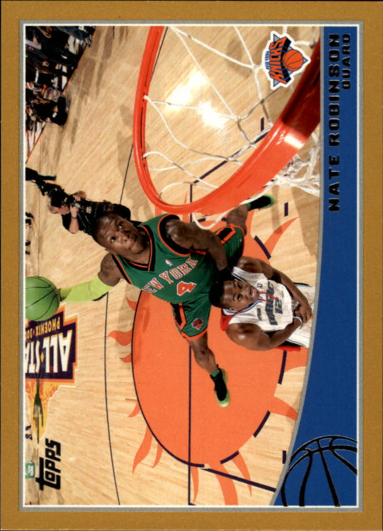 2009-10 Topps Gold #199 Nate Robinson