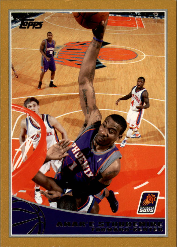 2009-10 Topps Gold #237 Amare Stoudemire