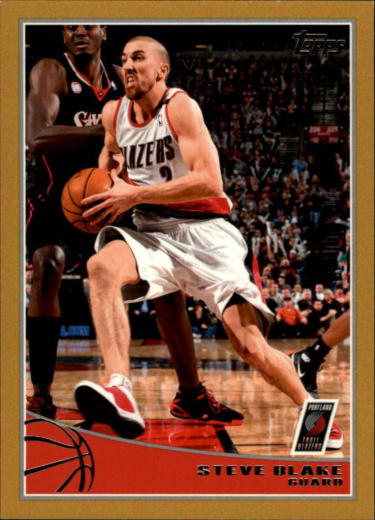 2009-10 Topps Gold #252 Steve Blake