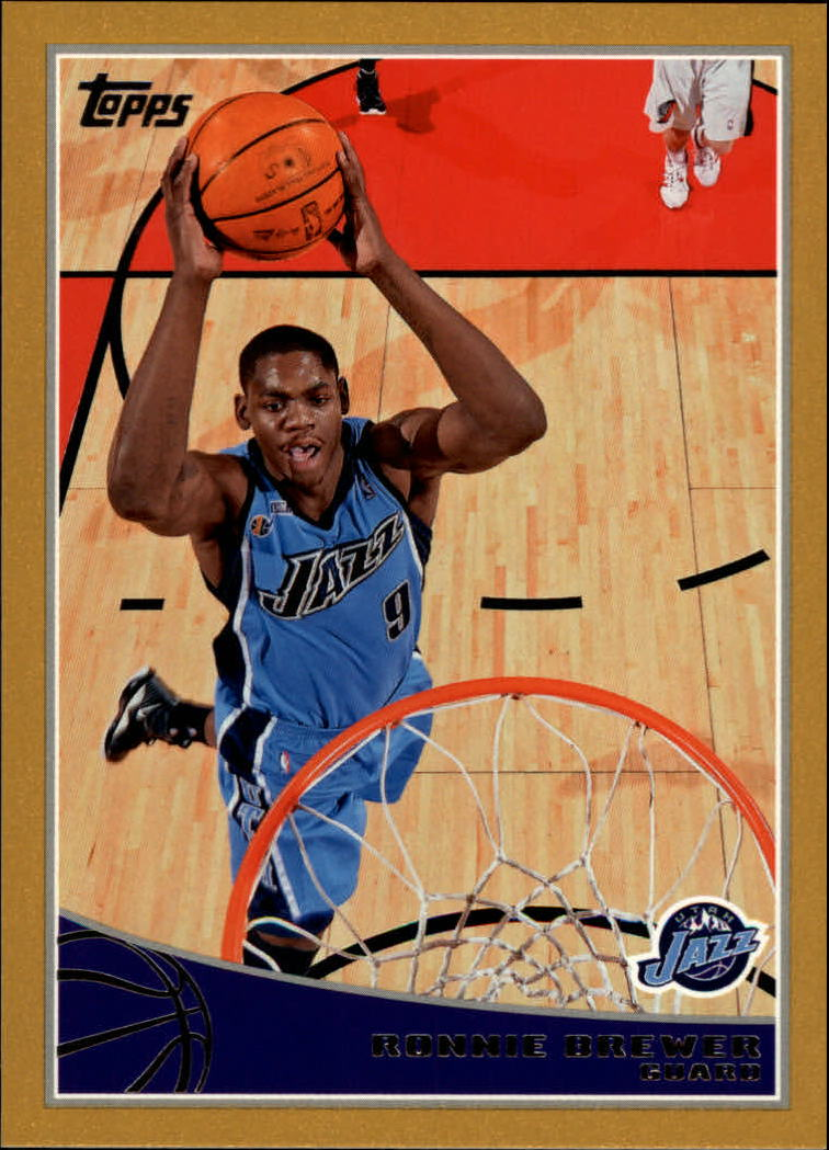 2009-10 Topps Gold #297 Ronnie Brewer