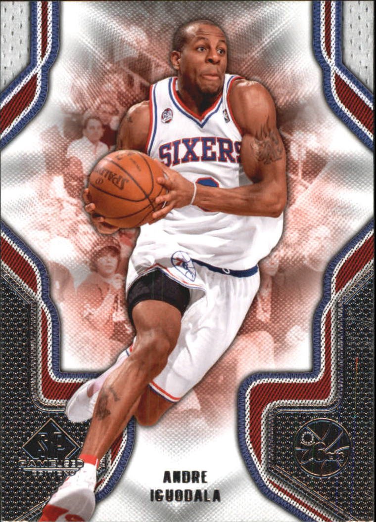 2009-10 SP Game Used #6 Andre Iguodala