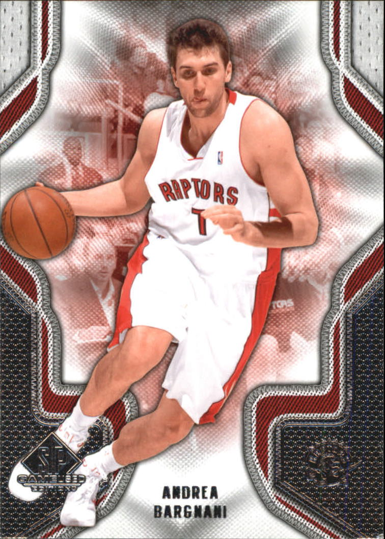 2009-10 SP Game Used #8 Andrea Bargnani