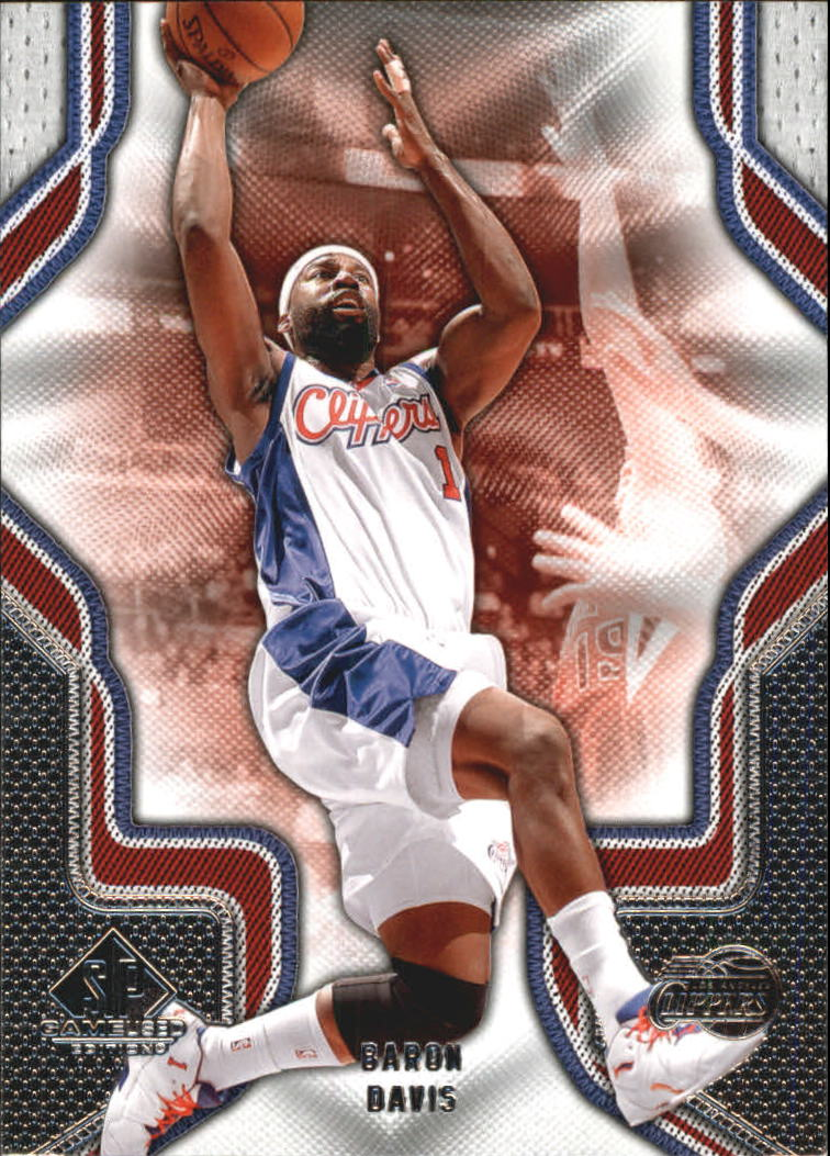 2009-10 SP Game Used #10 Baron Davis