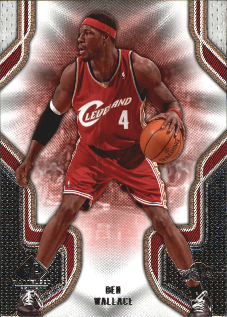 2009-10 SP Game Used #12 Ben Wallace