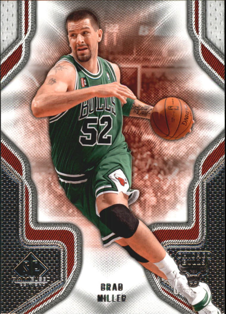 2009-10 SP Game Used #14 Brad Miller
