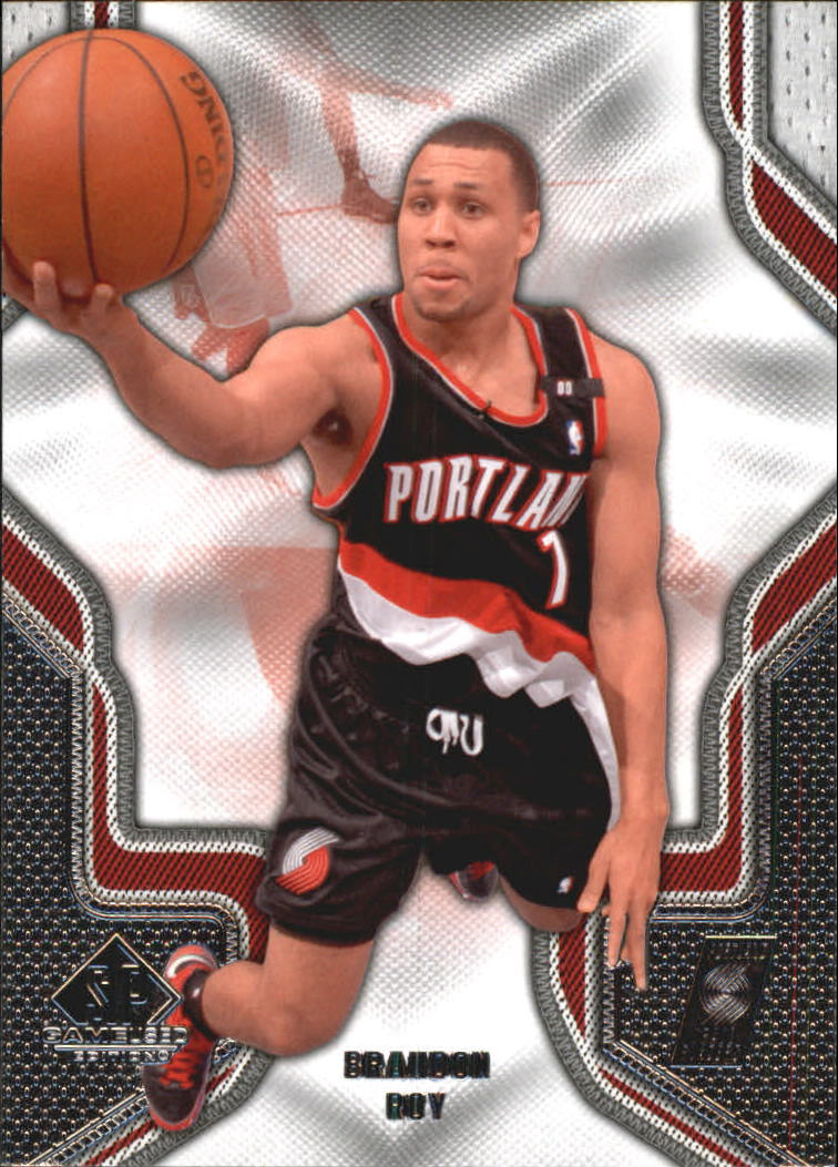 2009-10 SP Game Used #15 Brandon Roy