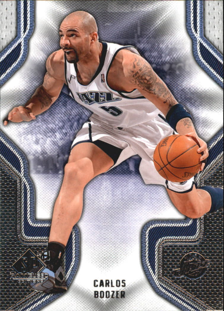 2009-10 SP Game Used #16 Carlos Boozer