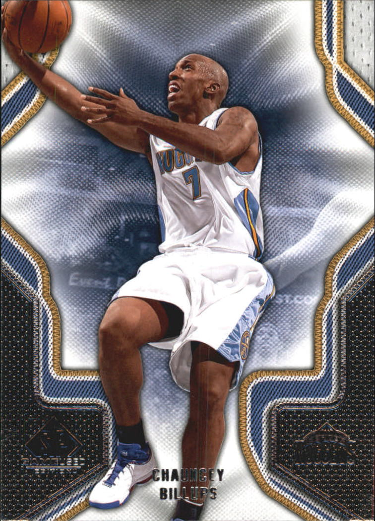 2009-10 SP Game Used #18 Chauncey Billups
