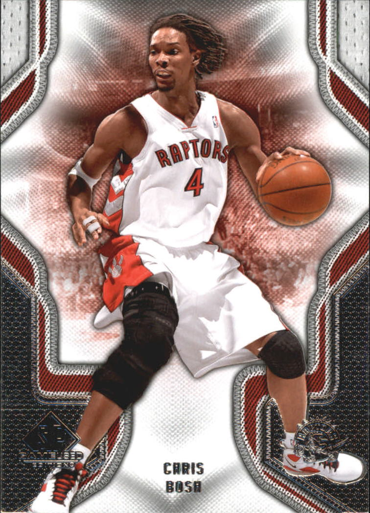 2009-10 SP Game Used #19 Chris Bosh