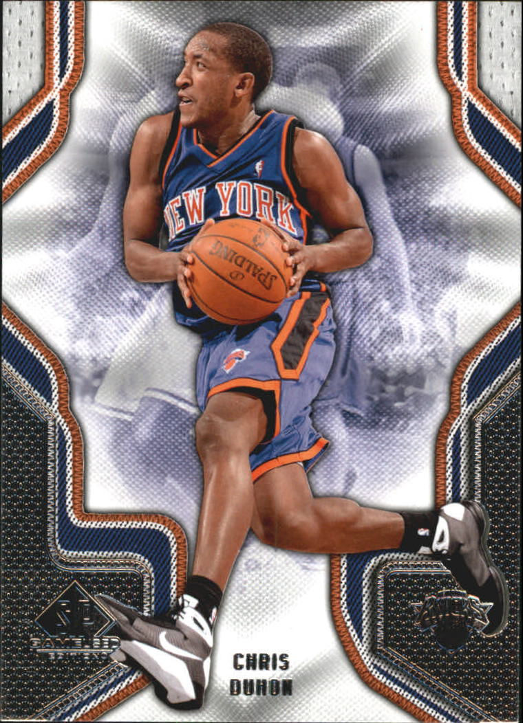 2009-10 SP Game Used #20 Chris Duhon