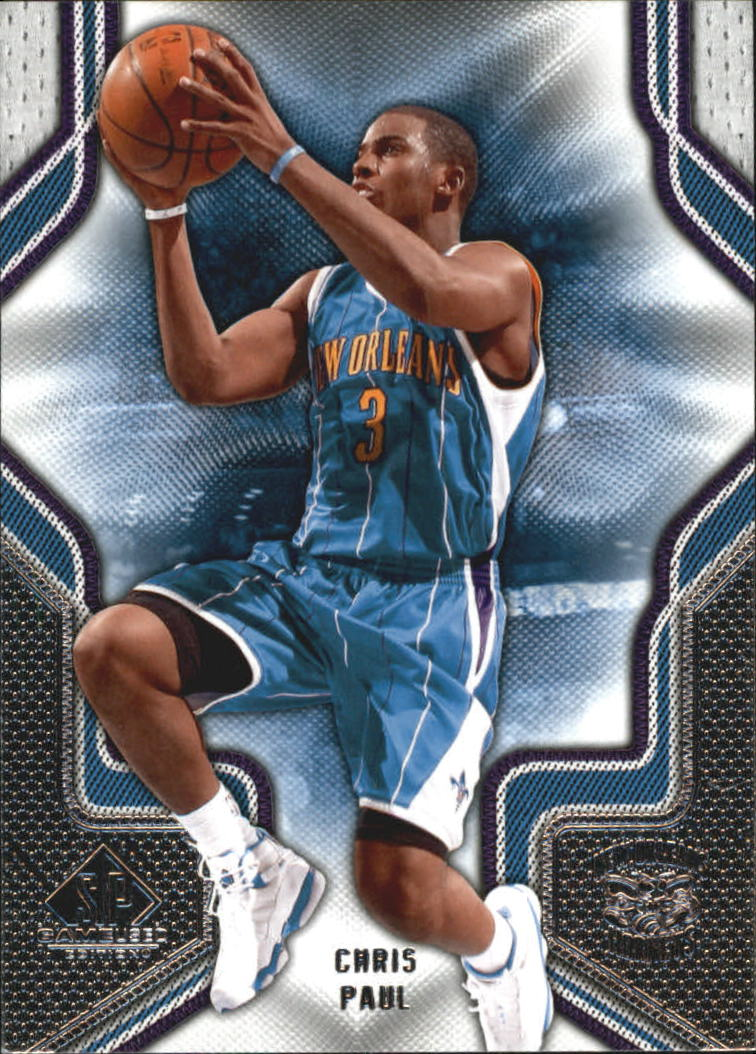 2009-10 SP Game Used #21 Chris Paul
