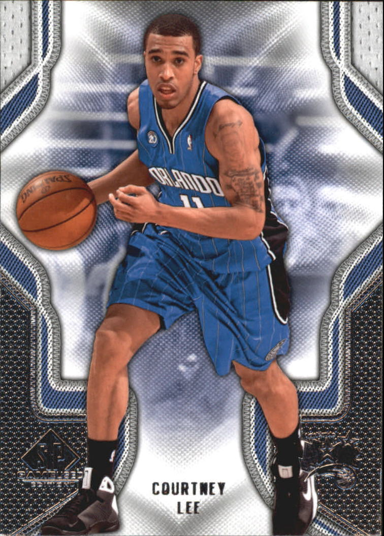 2009-10 SP Game Used #22 Courtney Lee
