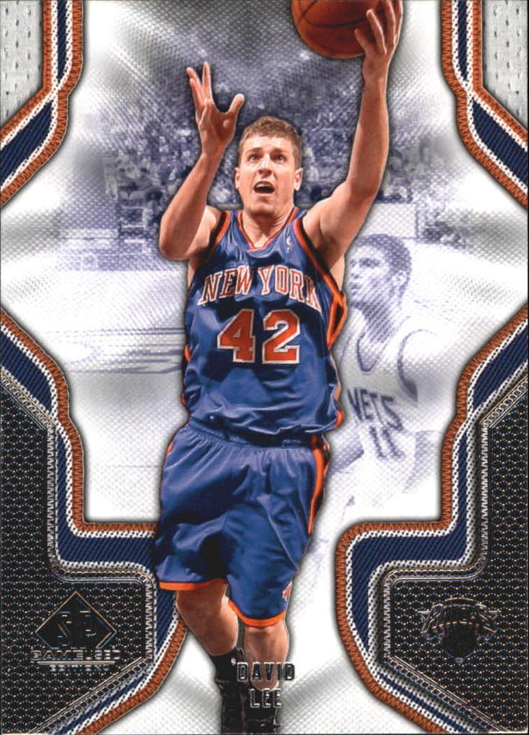 2009-10 SP Game Used #25 David Lee