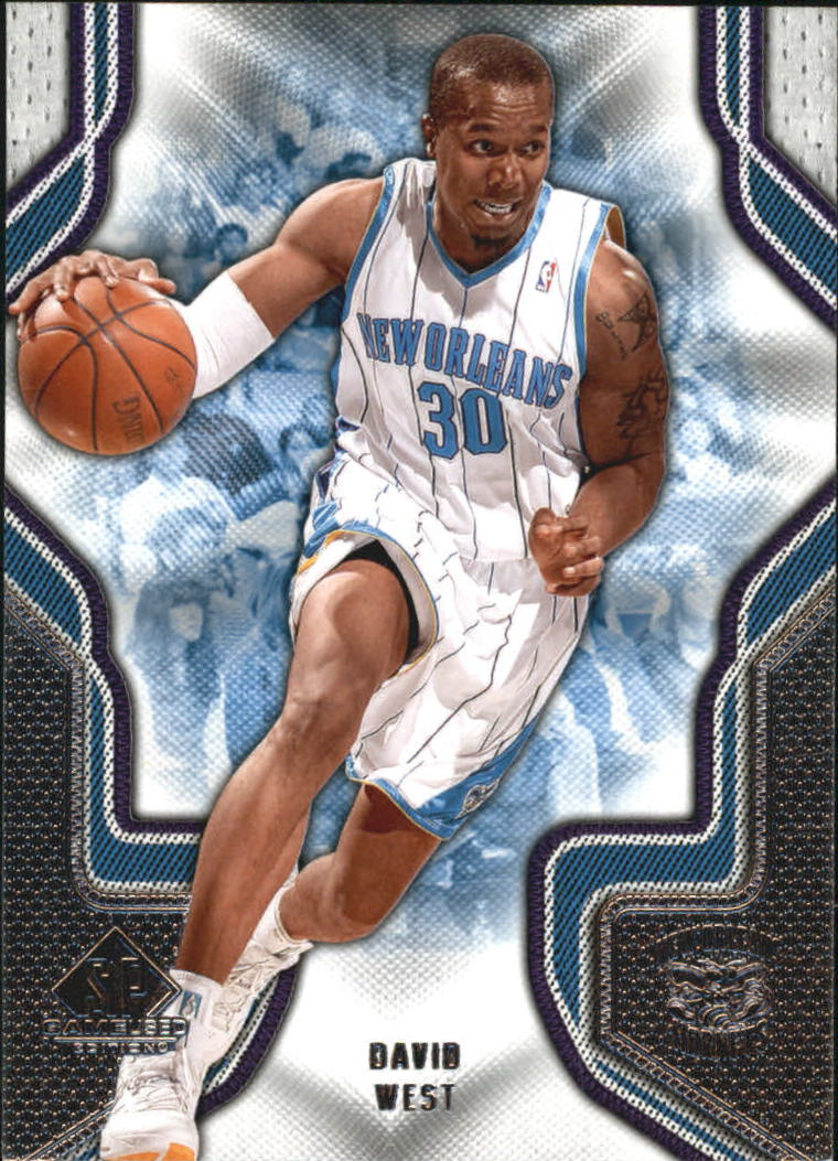 2009-10 SP Game Used #26 David West