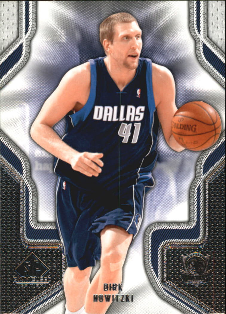 2009-10 SP Game Used #32 Dirk Nowitzki