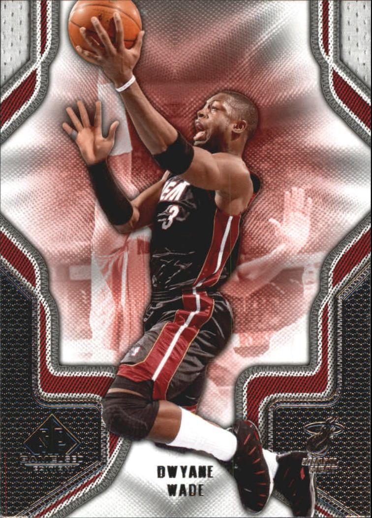 2009-10 SP Game Used #34 Dwyane Wade