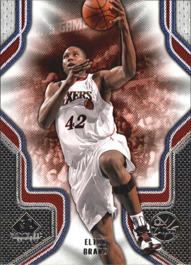 2009-10 SP Game Used #35 Elton Brand