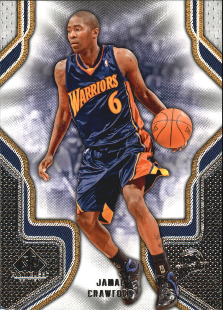 2009-10 SP Game Used #39 Jamal Crawford