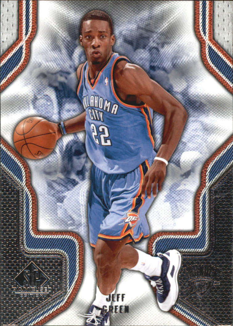 2009-10 SP Game Used #42 Jeff Green
