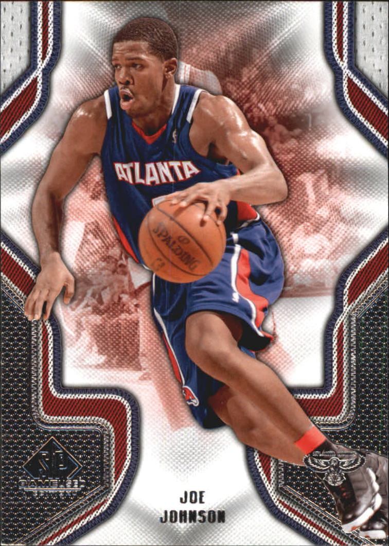 2009-10 SP Game Used #45 Joe Johnson