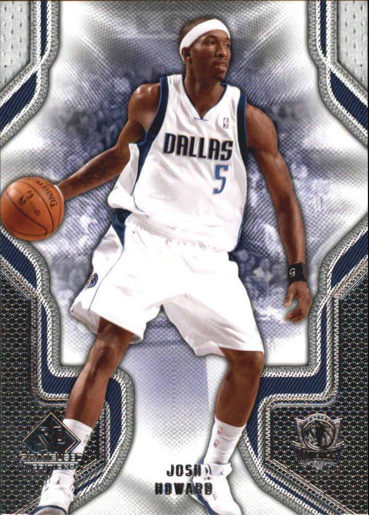 2009-10 SP Game Used #47 Josh Howard