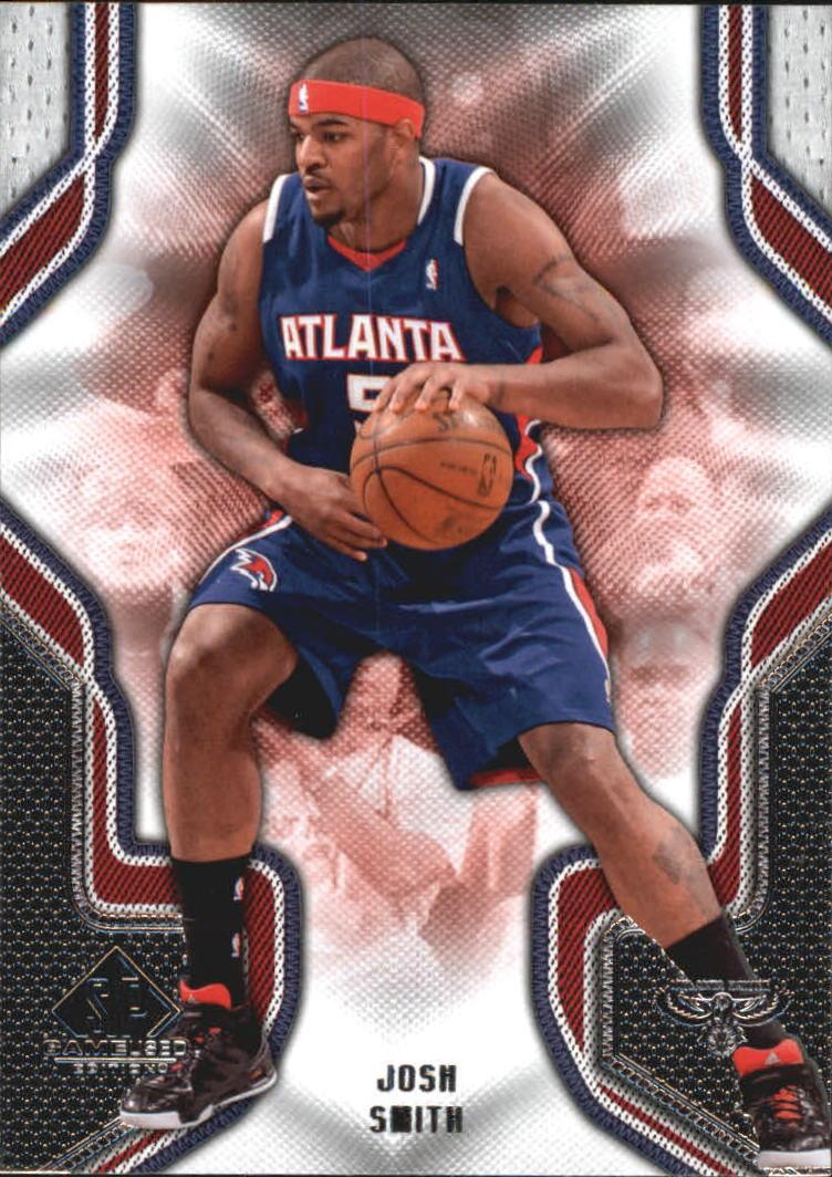 2009-10 SP Game Used #48 Josh Smith