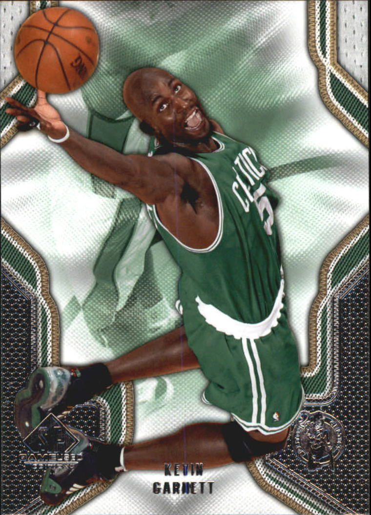 2009-10 SP Game Used #51 Kevin Garnett