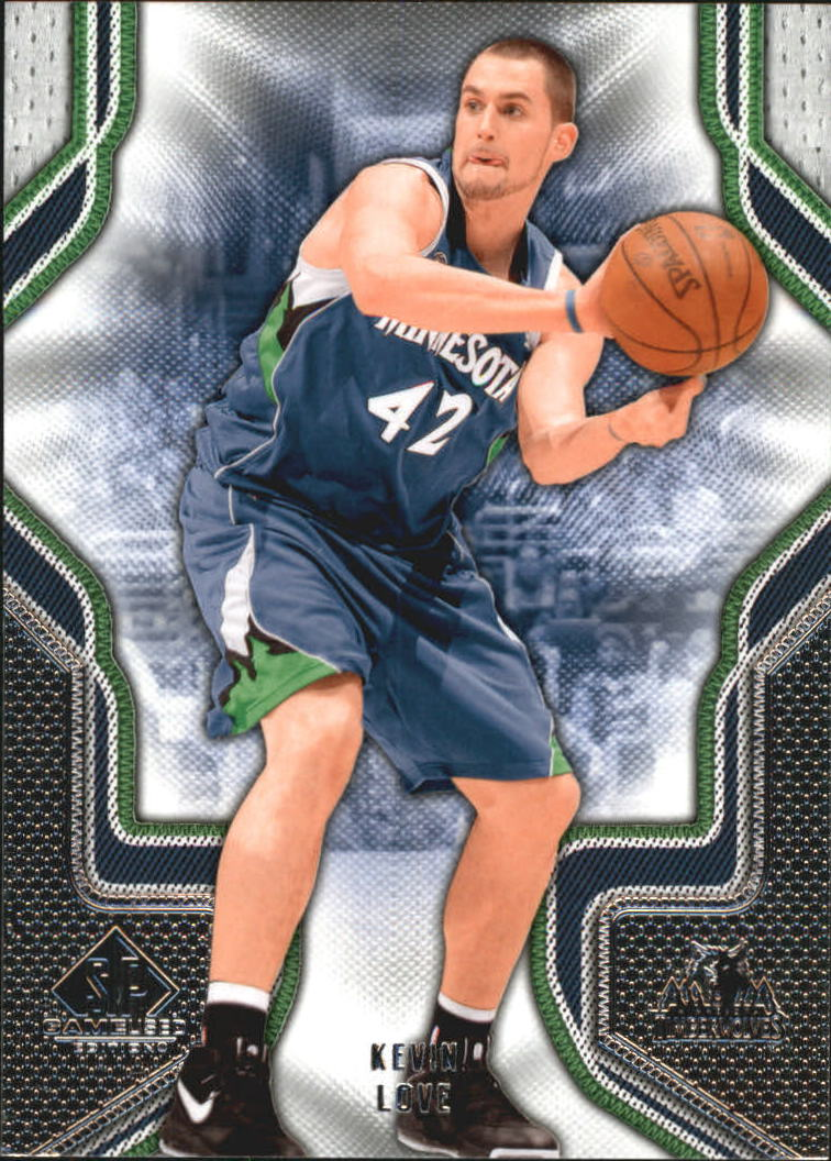 2009-10 SP Game Used #52 Kevin Love