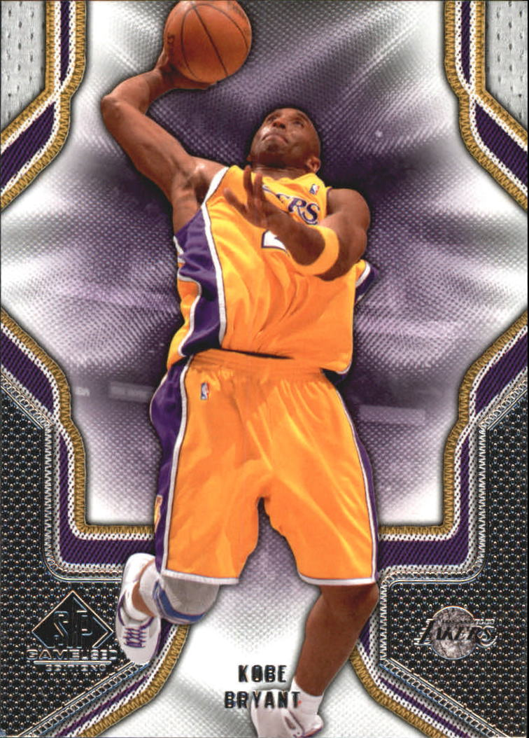 2009-10 SP Game Used #54 Kobe Bryant