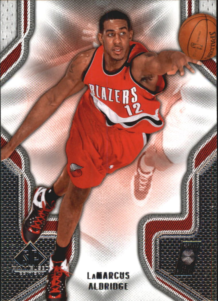 2009-10 SP Game Used #56 LaMarcus Aldridge