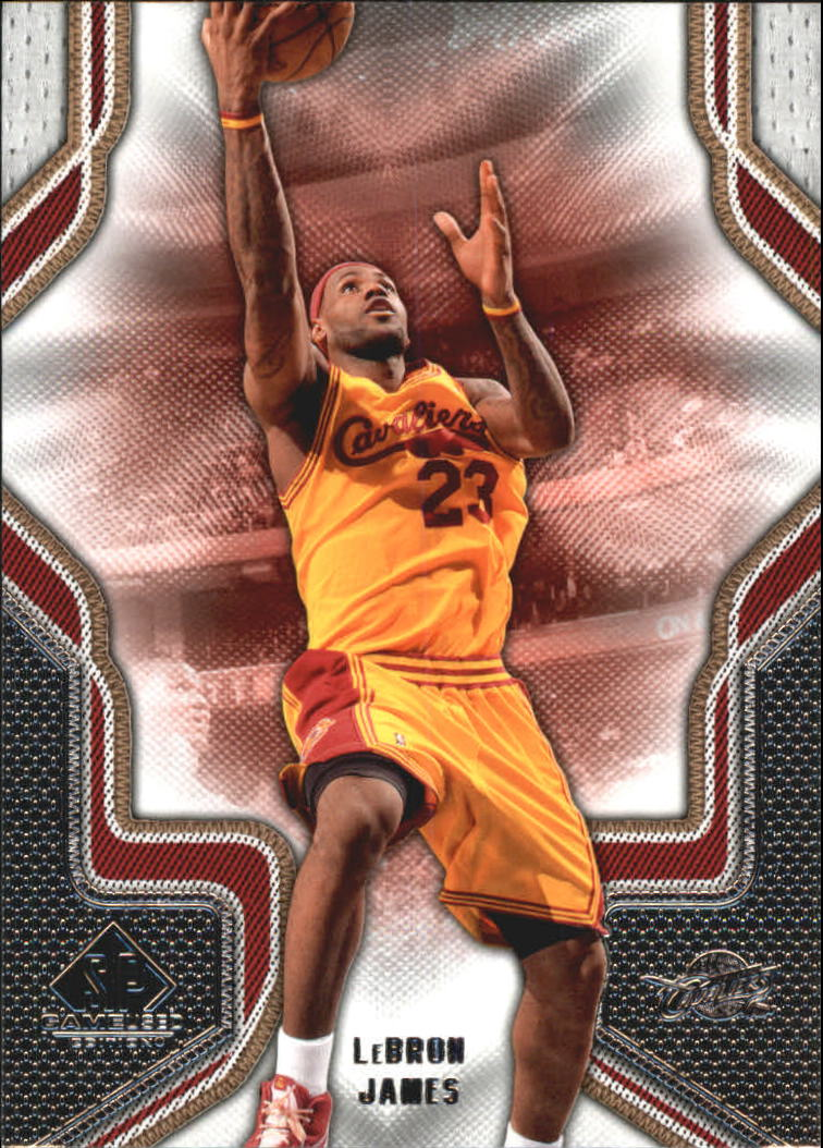 2009-10 SP Game Used #57 LeBron James