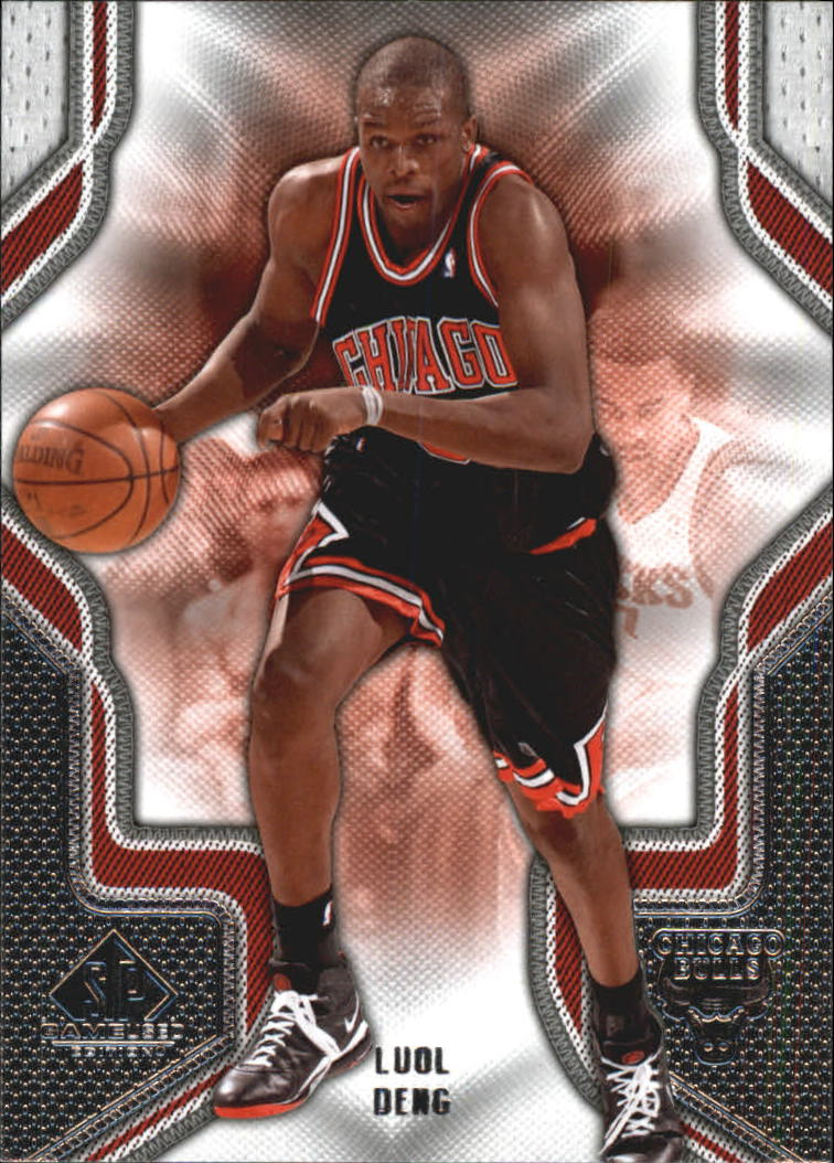 2009-10 SP Game Used #60 Luol Deng