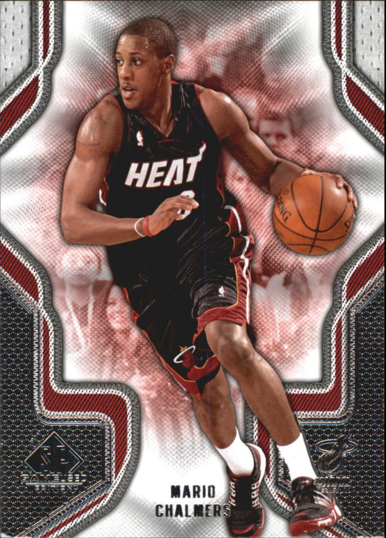 2009-10 SP Game Used #63 Mario Chalmers