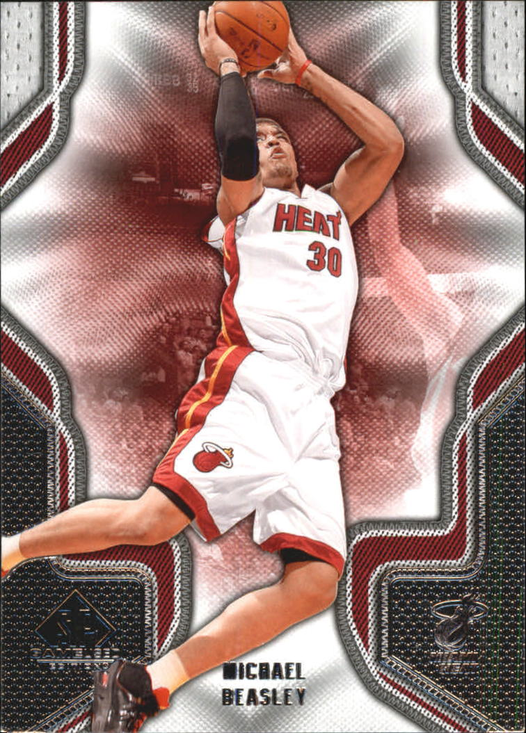 2009-10 SP Game Used #64 Michael Beasley
