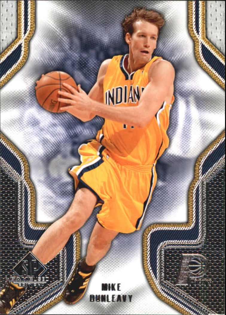 2009-10 SP Game Used #67 Mike Dunleavy
