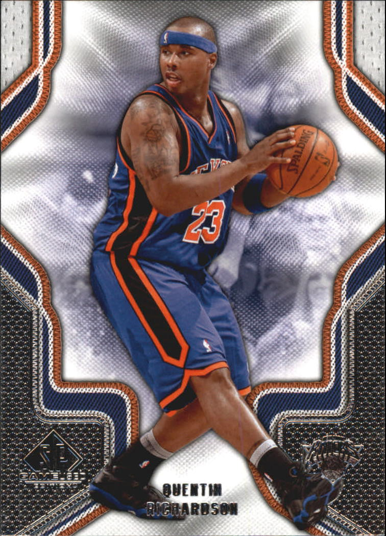 2009-10 SP Game Used #74 Quentin Richardson