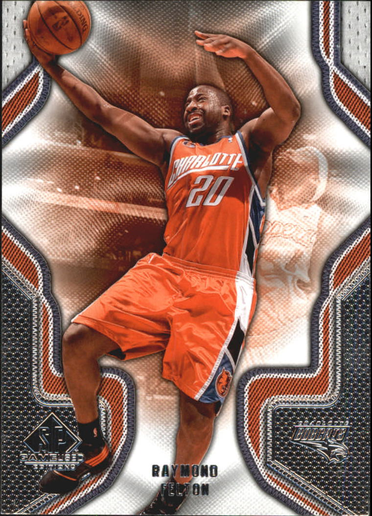 2009-10 SP Game Used #77 Raymond Felton