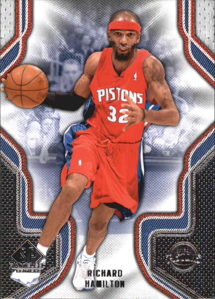 2009-10 SP Game Used #78 Richard Hamilton