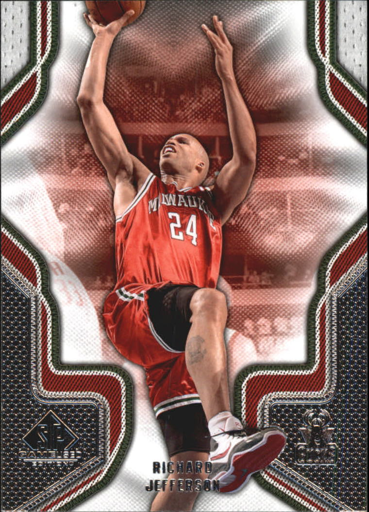 2009-10 SP Game Used #79 Richard Jefferson