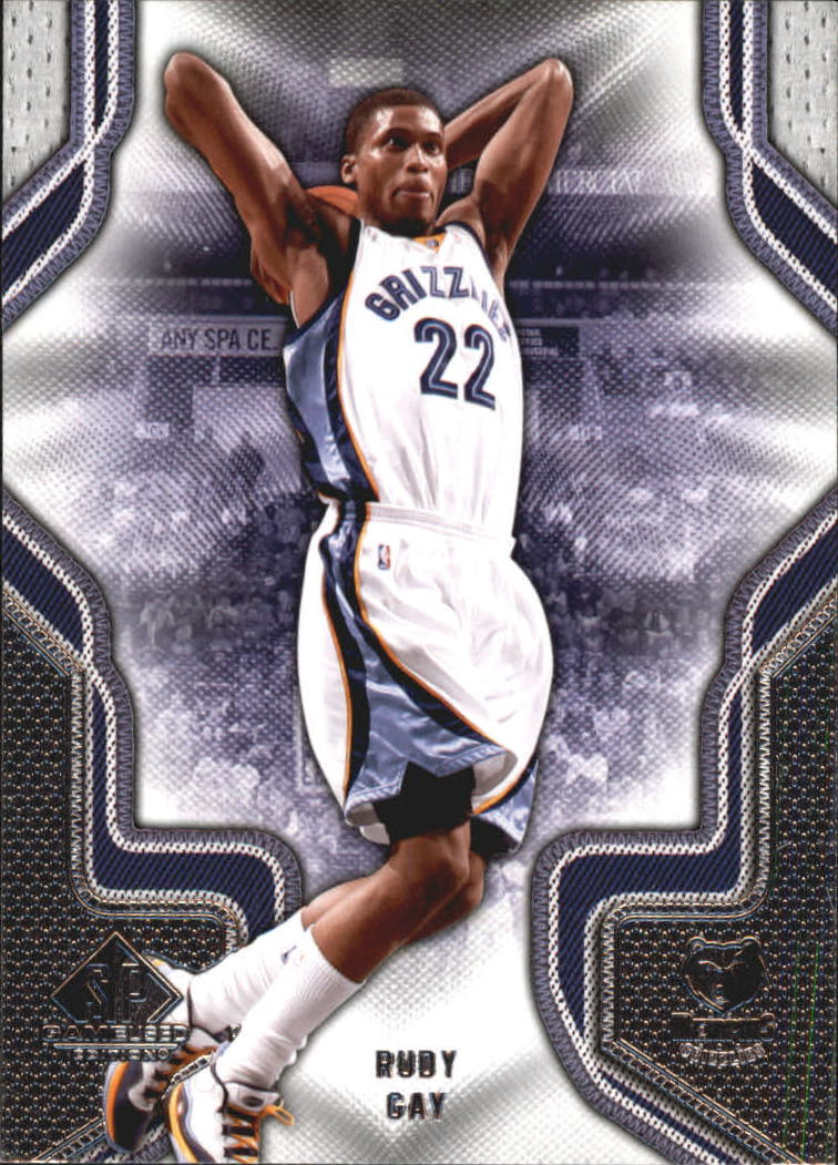 2009-10 SP Game Used #84 Rudy Gay
