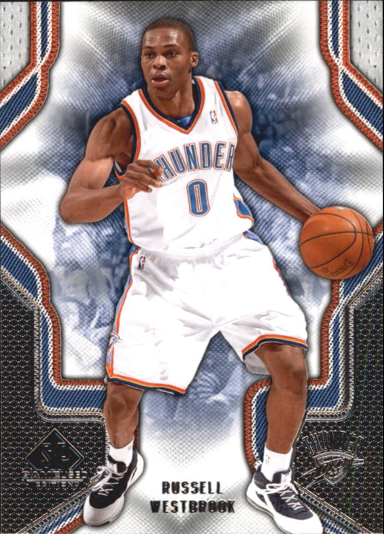 2009-10 SP Game Used #85 Russell Westbrook