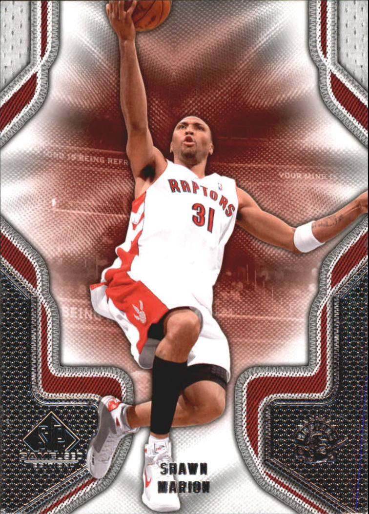 2009-10 SP Game Used #88 Shawn Marion