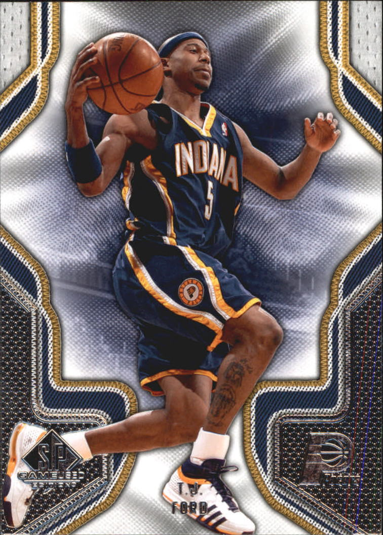 2009-10 SP Game Used #91 T.J. Ford