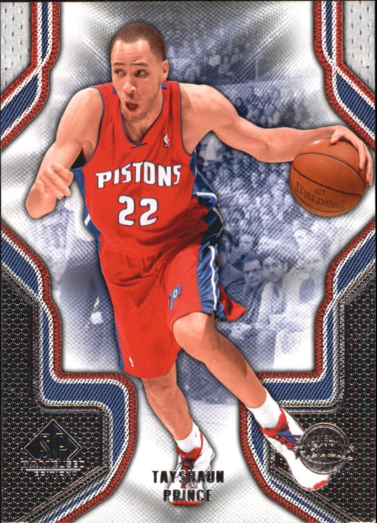 2009-10 SP Game Used #92 Tayshaun Prince