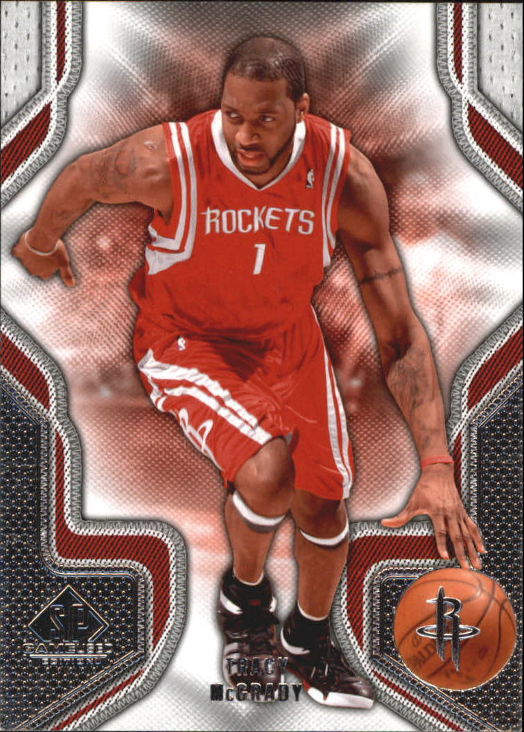 2009-10 SP Game Used #96 Tracy McGrady